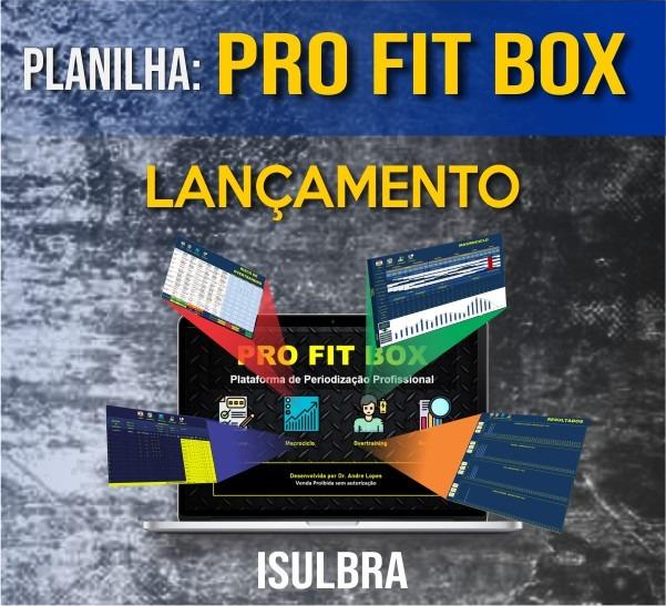 Curso para PLANILHA PRO FIT BOX - PERIODIZAÇÃO PROFISSIONAL