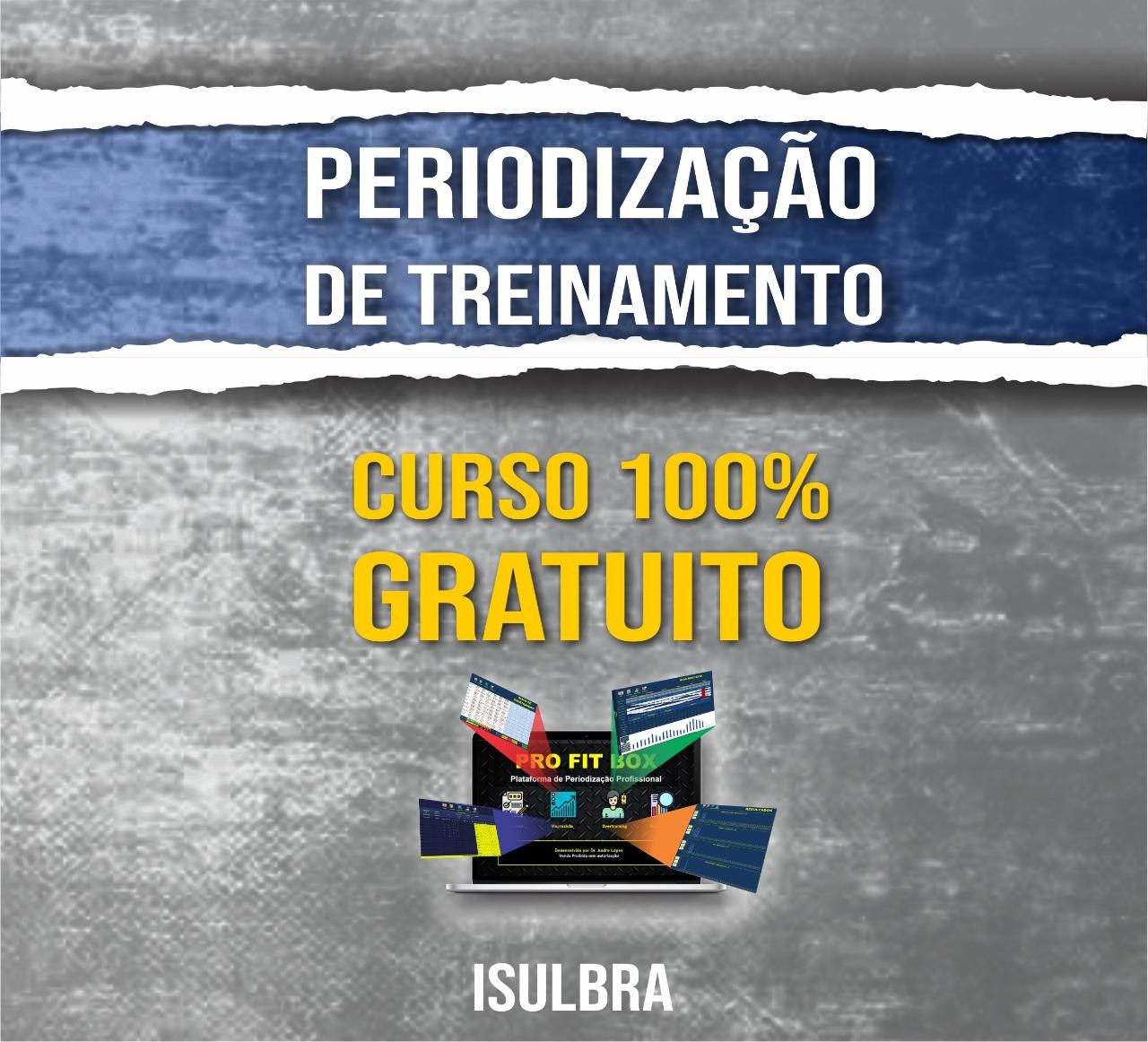 Curso para CURSO GRÁTIS DE PERIODIZAÇÃO DO TREINAMENTO