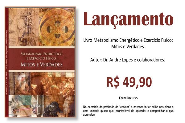 Curso para Livro metabolismo energético e exercício físico: mitos e verdades.