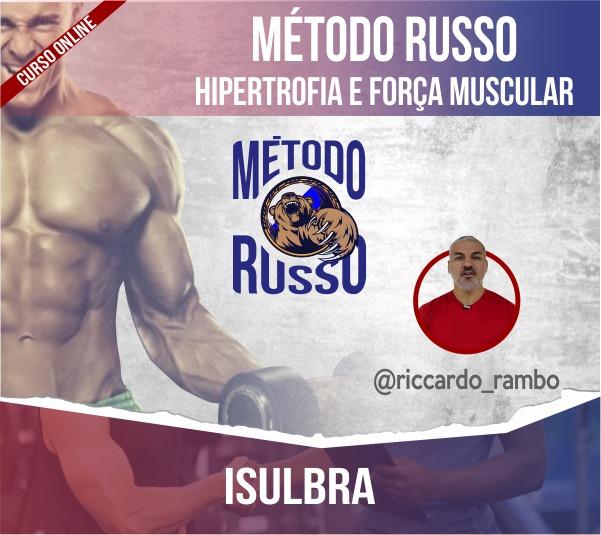 Curso para Treinamento de Força e Hipertrofia - Ricardo Rambo - Teoria + Prática - ON-LINE