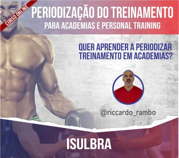 Curso para Periodização do Treinamento para Academias e Personal Training - Curso online