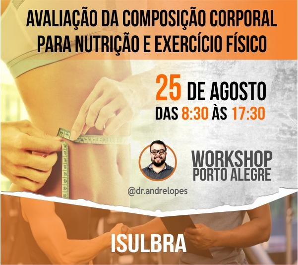 Curso para Avaliação da composição corporal para nutrição e educação física