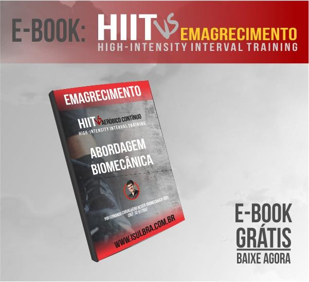 Curso para E-book GRÁTIS HIIT vs EMAGRECIMENTO