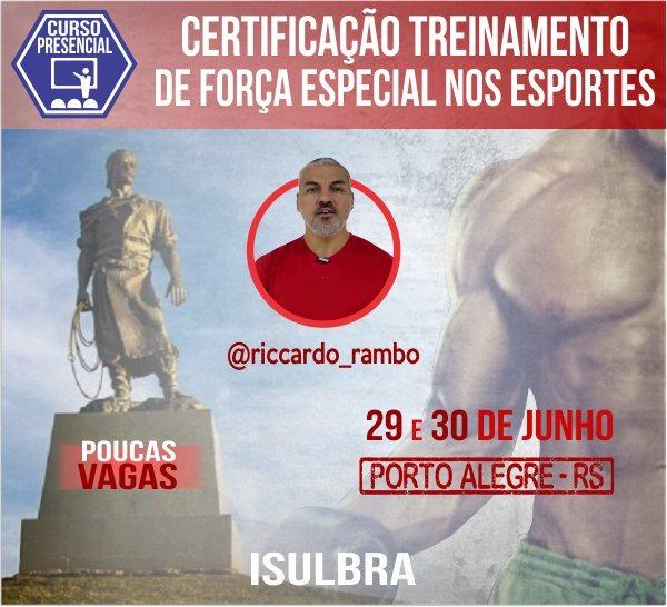 Curso para Certificação em Treinamento de Força Especial nos Esportes