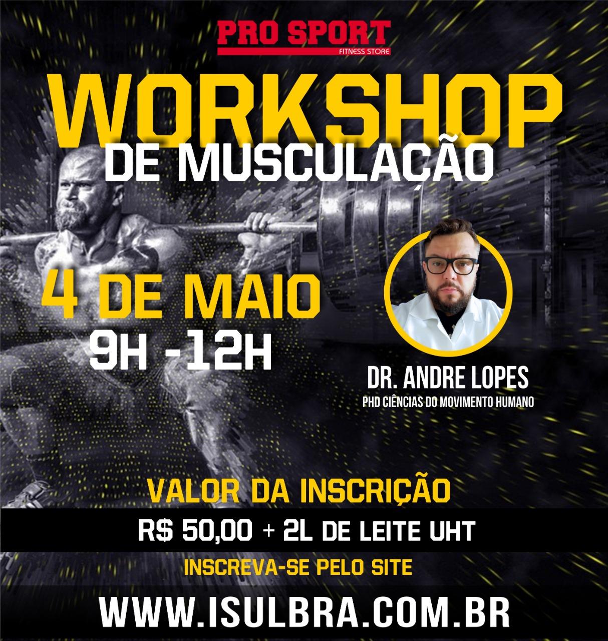 Curso para WorkShop de Musculação - Como usar o volume de treinamento