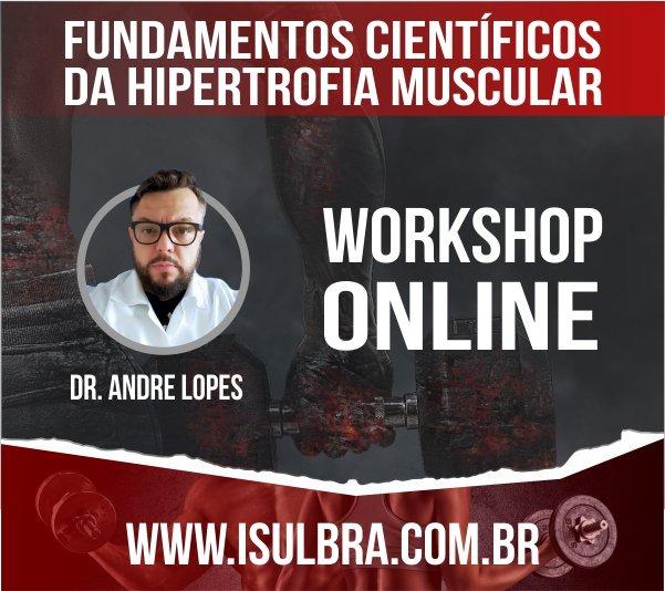 Curso para Lançamento - WorkShop Online - Hipertrofia Muscular
