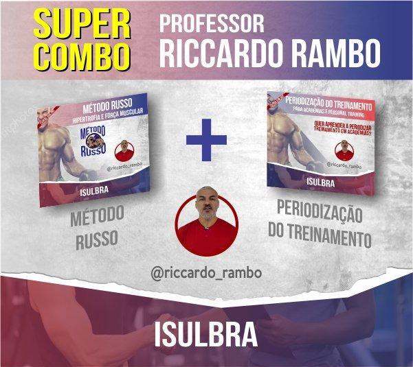 Curso para SUPER COMBO: Hipertrofia Método Russo + Periodização do Treinamento - Riccardo Rambo