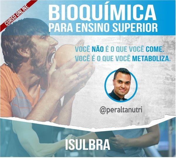 Curso para Bioquímica para Ensino Superior - Com Joelso Peralta