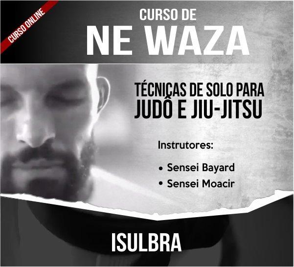 Curso para CURSO ONLINE NE WAZA - Técnicas de solo do Judô - Sensei Bayard e Sansei Moacir