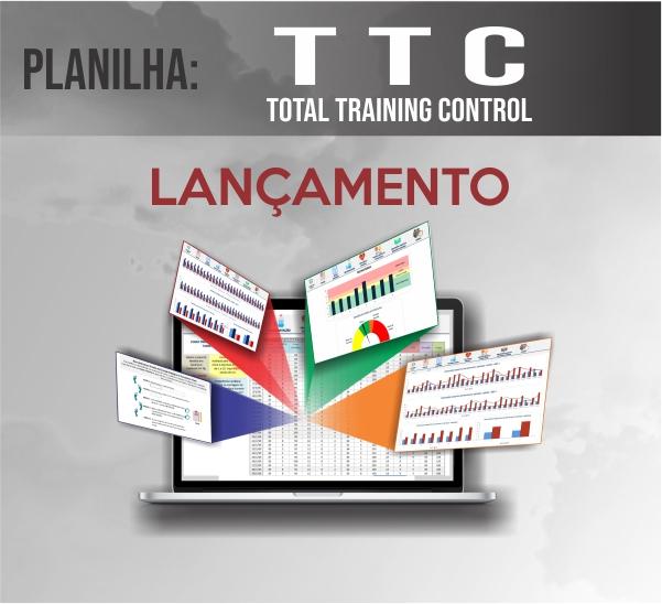 Curso para Planilha- TTC- TOTAL TRAINING CONTROL - PLANILHA DE CONTROLE DE TREINAMENTO