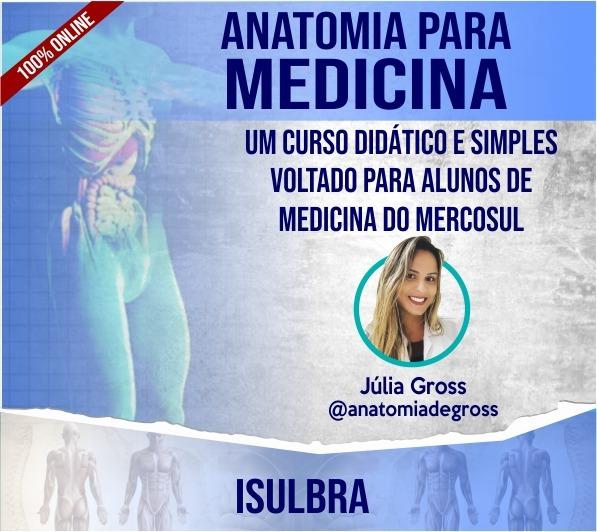 Curso para Anatomia Humana - Medicina
